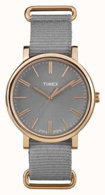 Timex Серого тканевого ремня серого серого цвета TW2P88600