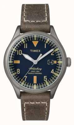 Timex Unisex темно-коричневый коричневый ремень TW2P84400