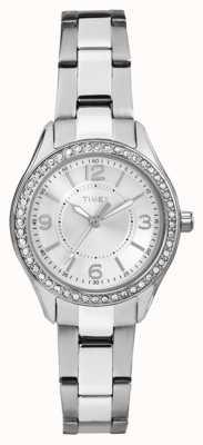 Timex Серебряный циферблат из нержавеющей стали TW2P79800