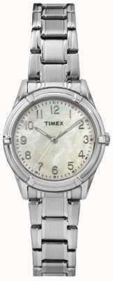 Timex Перламутровый стальной ремень TW2P76000