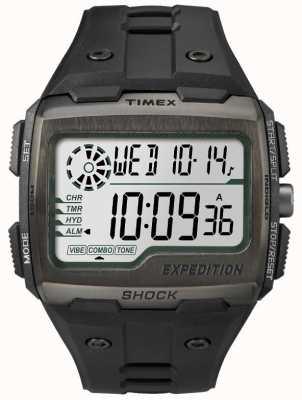 Timex Мужская сетчатая сигнализация хронограф черный TW4B02500