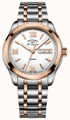 Rotary Мужские часы с двумя тонами GB90175/06