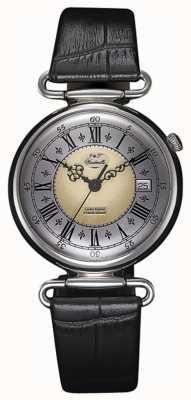 J&T Windmills Механические часы из серебристого серебра WGS10002/50