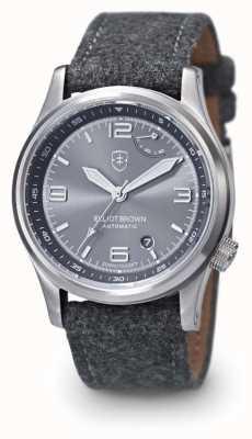Elliot Brown Мужчины tyneham серый серый серого циферблата 305-002-F01