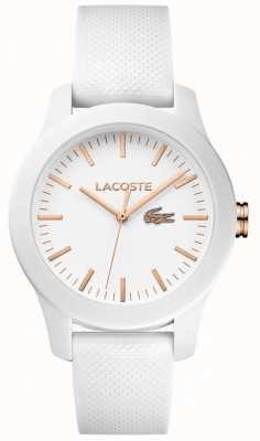 Lacoste Женская 12.12 белая резиновая накладка 2000960