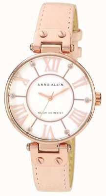 Anne Klein Женская розовая кожаный ремень 10/N9918RGLP
