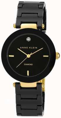 Anne Klein Черный черный черный ремешок AK/N1018BKBK
