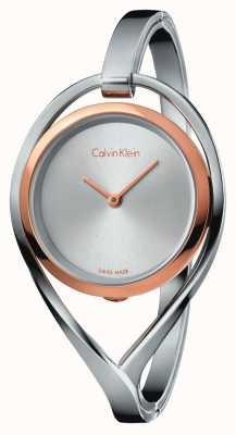 Calvin Klein Женская светлая лента из нержавеющей стали из розового золота K6L2MB16