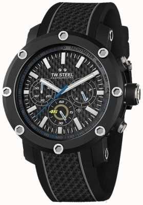 TW Steel Черный черный ремешок черного хронографа TW937