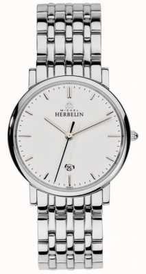 Michel Herbelin Серебряная сетка из нержавеющей стали 12543/B11