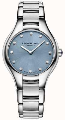 Raymond Weil Женская номия 12 бриллиантовая синяя 5132-ST-50081