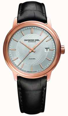 Raymond Weil Мужской кожаный чехол maestro с автоматическим покрытием из розовой кожи 2237-PC5-65001