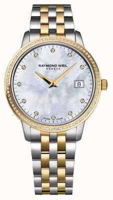 Raymond Weil Женские часы токката | двухцветный ремешок из нержавеющей стали / пвд | 5988-STP-97081