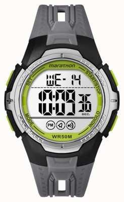 Timex Унисекс марафон цифровой черный полный размер TW5M06700