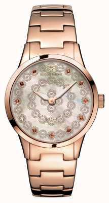 88 Rue du Rhone Rive 32 мм дамы кварца розового золота 87WA153202
