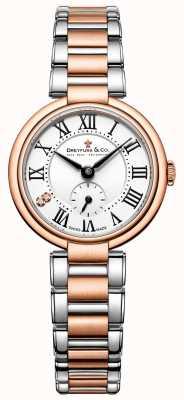 Dreyfuss дамы два тона розового золота 1974 смотреть DLB00159/01/L