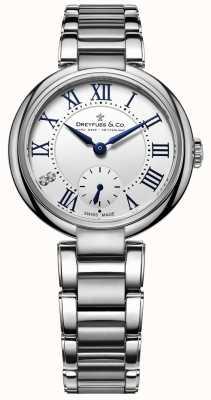 Dreyfuss 1974 нержавеющая сталь большие женские часы DLB00157/01/L