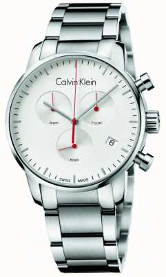 Calvin Klein Мужские часы из нержавеющей стали для хронографа K2G271Z6