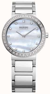 Bering Женская нержавеющая сталь серебро 10729-704