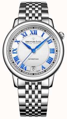 Dreyfuss Женская нержавеющая сталь 1925 часы DLB00148/01