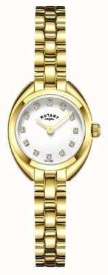 Rotary Женщины браслет ремешок позолоченный LB05015/11