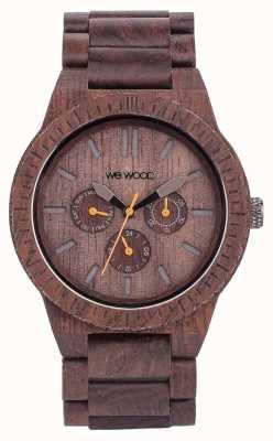 WeWood Мужская каппа шоколадный деревянный коричневый ремешок 70315500