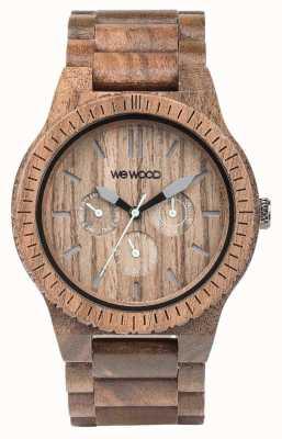 WeWood Мужской каппа орех деревянный коричневый ремешок 70315700