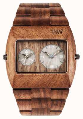 WeWood Мужской юпитер rs орех деревянный коричневый ремешок 70331700