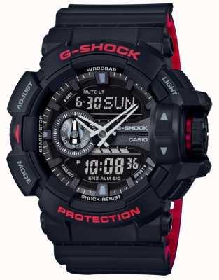 Casio Мужская g-shock будильник хронограф черный ремень GA-400HR-1AER