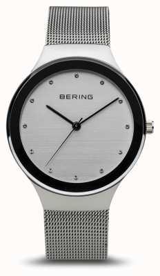 Bering Женская классика   полированное серебро   браслет из серебряной сетки 12934-000