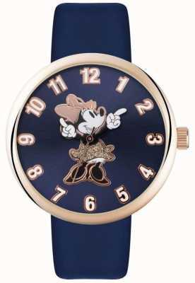 Disney Adult Минни-мышь с розовым золотым синим ремешком MN1471