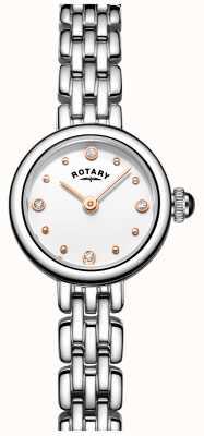 Rotary Женские элегантные коктейльные часы из нержавеющей стали LB05052/02