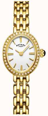 Rotary Женские позолоченные коктейльные часы LB05051/02