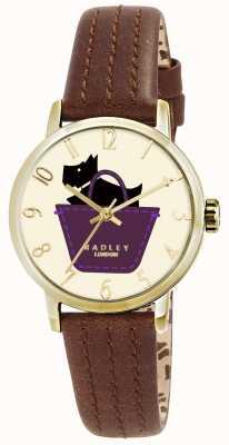 Radley Пограничные часы с ремешком из натуральной кожи RY2290