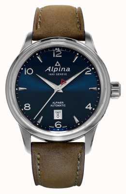 Alpina Мужской альпинер автоматический синий AL-525N4E6