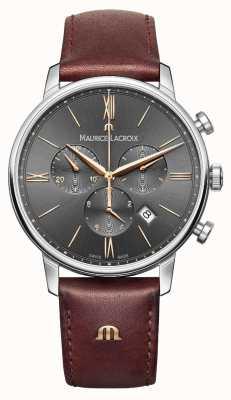 Maurice Lacroix Mens eliros хронограф серый EL1098-SS001-311-1