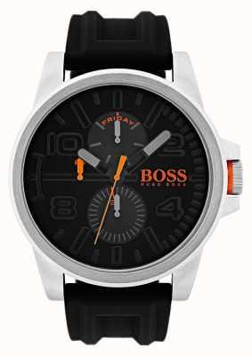 Hugo Boss Orange Детройт черный резиновый день и день дисплей смотреть 1550006