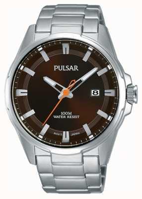Pulsar Мужские часы из нержавеющей стали PS9507X1