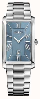Hugo Boss Мужская адмирал из нержавеющей стали браслет синий циферблат 1513438