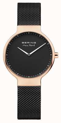 Bering Ladies max rené сменный сетчатый ремень черный 15531-262