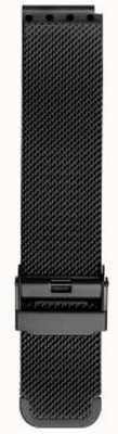 Bering Мужской миланский черный сетчатый ремень PT-15540-BMBX