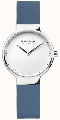Bering Дамы max rené сменный синий резиновый ремешок 15531-700