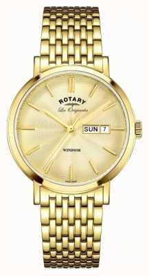Rotary Позолоченный ремень GB90156/03