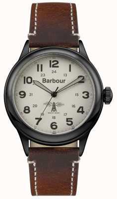 Barbour Мужская коричневая кожа коричневого цвета BB056CMBR