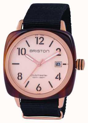 Briston Мужской клубмейстер классический ацетат розового золота 14240.PRA.T.6.NB