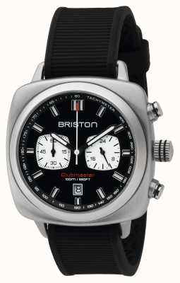 Briston Mens clubmaster спортивная сталь chrono black 16142.S.SP.1.RB