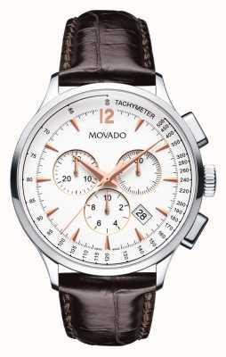 Movado Корпус из нержавеющей стали для людей с хронографом 0606576