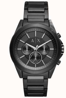 Armani Exchange Мужская черная глазурованная сталь AX2601