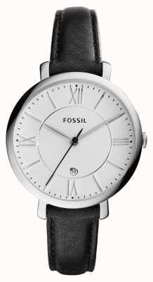 Fossil Жаклин серебристый черный ES3972