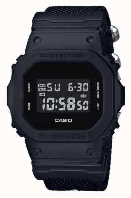 Casio Mens g-shock черная ткань DW-5600BBN-1ER
